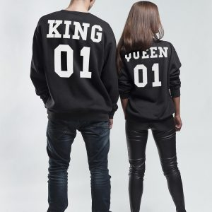 King and Queen mikiny