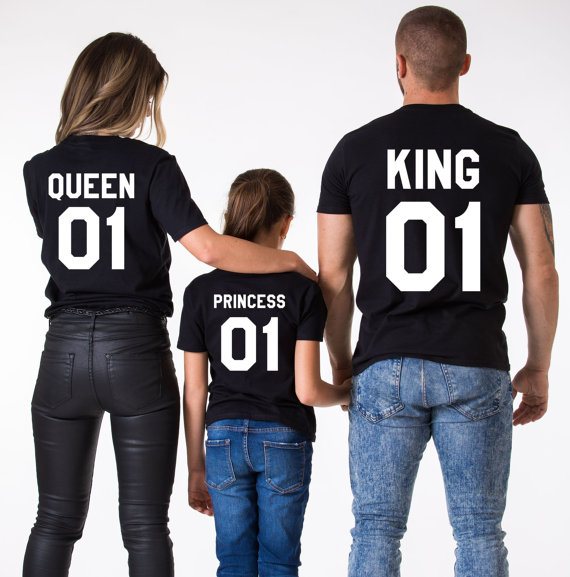 King Queen a Princess