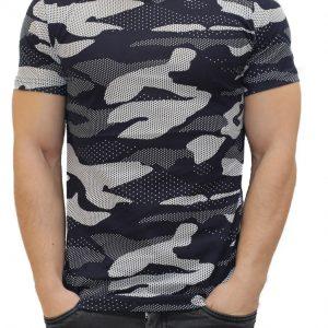 Moderné maskáčové tričko